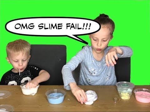 SLIME ACCIDENT! SLIME FACTORY SLIME KIT - VLOGMAS DAY 16