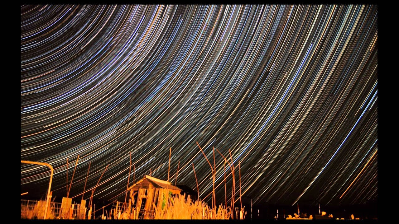 Long Exposure Photo  Star Trail Long Exposure Photography
