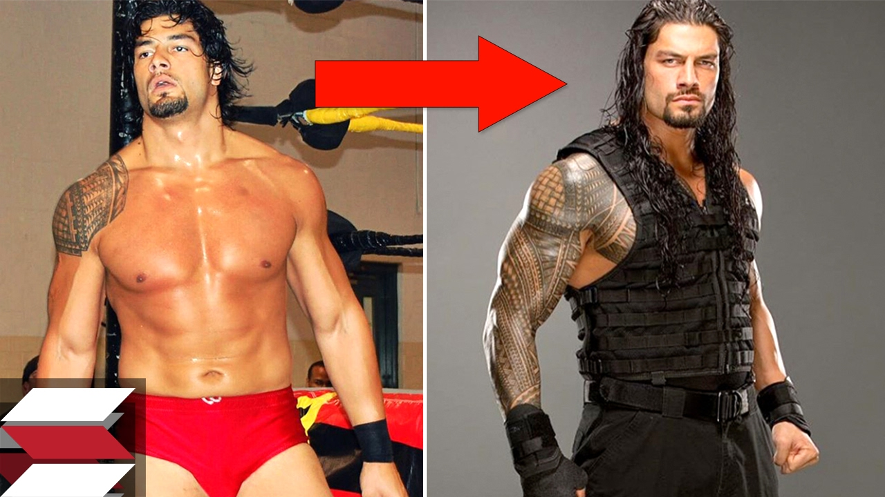 WWE Wrestlers You Wouldnt Recognize Years Ago YouTube - Famous wwe wrestlers looked completely different
