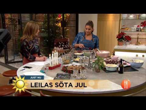 Leilas Söta Jul - Nyhetsmorgon (TV4)