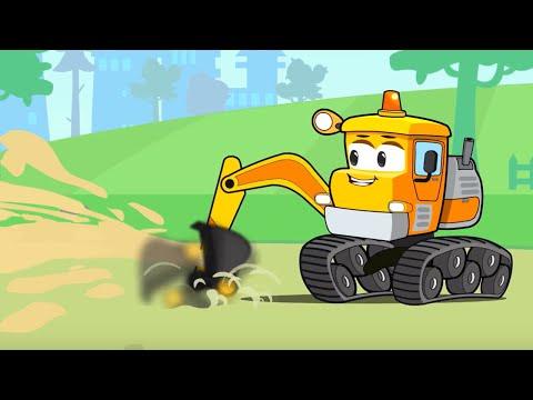 Bagger Kinderfilm - Super Spielplatz - Cartoon Für Kinder | Vroom Vroom