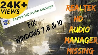 how to download install realtek audio driver