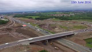 a8 m8 motorway upgrade montage june 2017 update