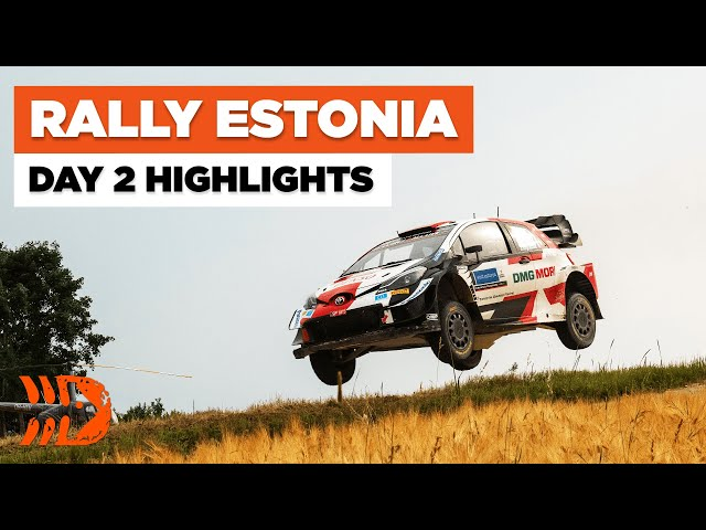 Rally Estonia 2021 - Misfortune and Retirements | Day 2 HIGHLIGHTS