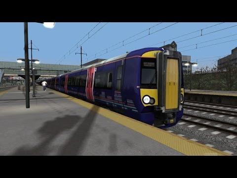 Train Simulator 2014 HD EXCLUSIVE: New Jersey Transit Train 3830 with Class 377 EMU