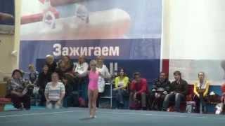 Катя - вторые соревнования (октябрь 2014)