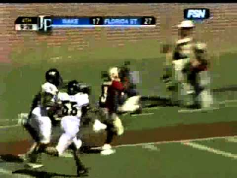 Leon Washington 61 yd TD Reception at FSU