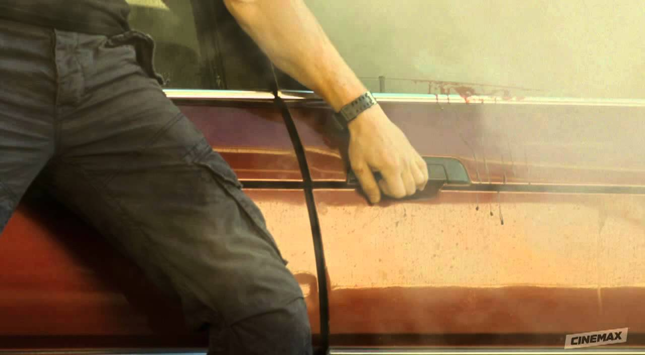 Download Strike Back Season 2: Episode 6 Clip - Stonebridge Approaches Crashed Car
