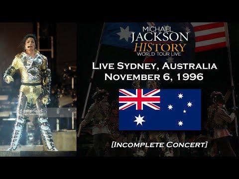 Michael Jackson Live HIStory World Tour Sydney 1996 [Incomplete Concert] ᴴᴰ