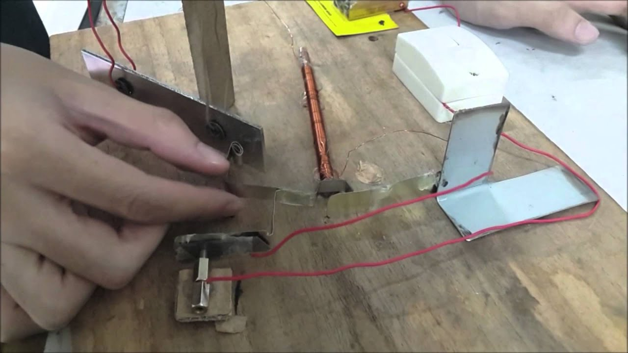 DIY Electric bell - YouTube