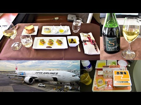 Japan Airlines First Class versus Economy Class!