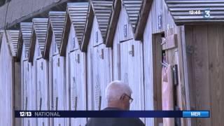 Dieppe : les cabines de plage sont les cibles de vols