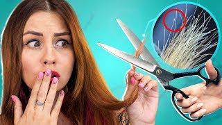 видео Как убрать секущиеся кончики волос?