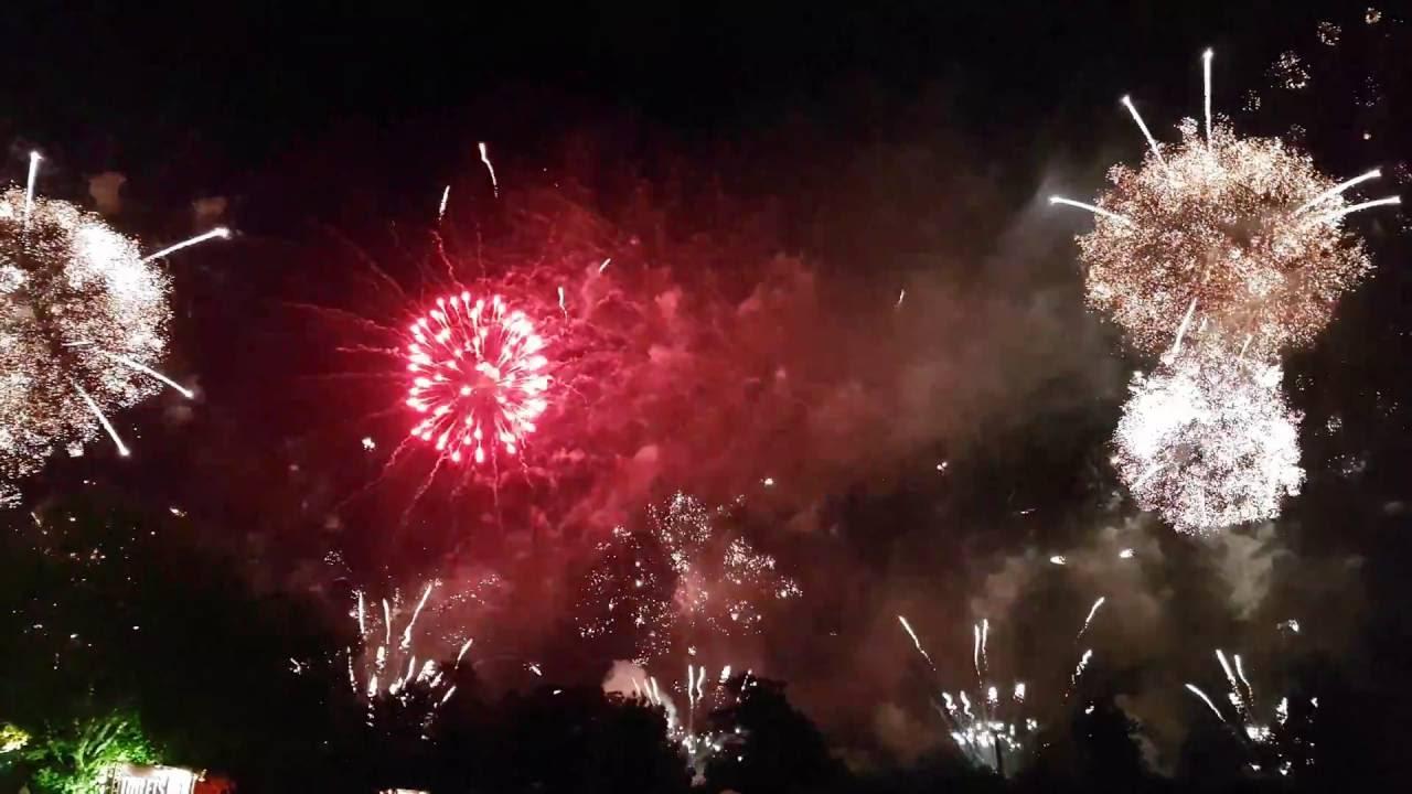Fireworks Hellfest 2016 4k Feu D Artifice Youtube