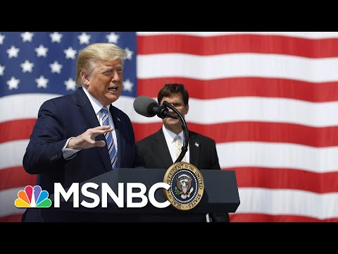 Trump Is 'Considering' Quarantine Of New York, Asks Residents To Follow CDC Guidelines | MSNBC