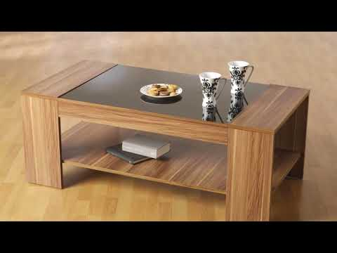 Modern Wood and Glass Coffee Table Designs