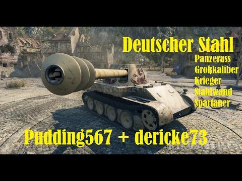 World of Tanks Gast-Replay 0130 (deutsch) Deutscher Stahl 11 - Skorpion G + Jagdpanther