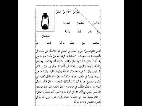 Mabdaul qiro'at kitobidan nahu gramatika tarkibi bilan 15 dars ( Muhammad mubin domla)