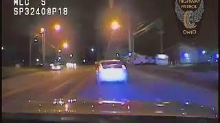 Stolen car crashes during police pursuit