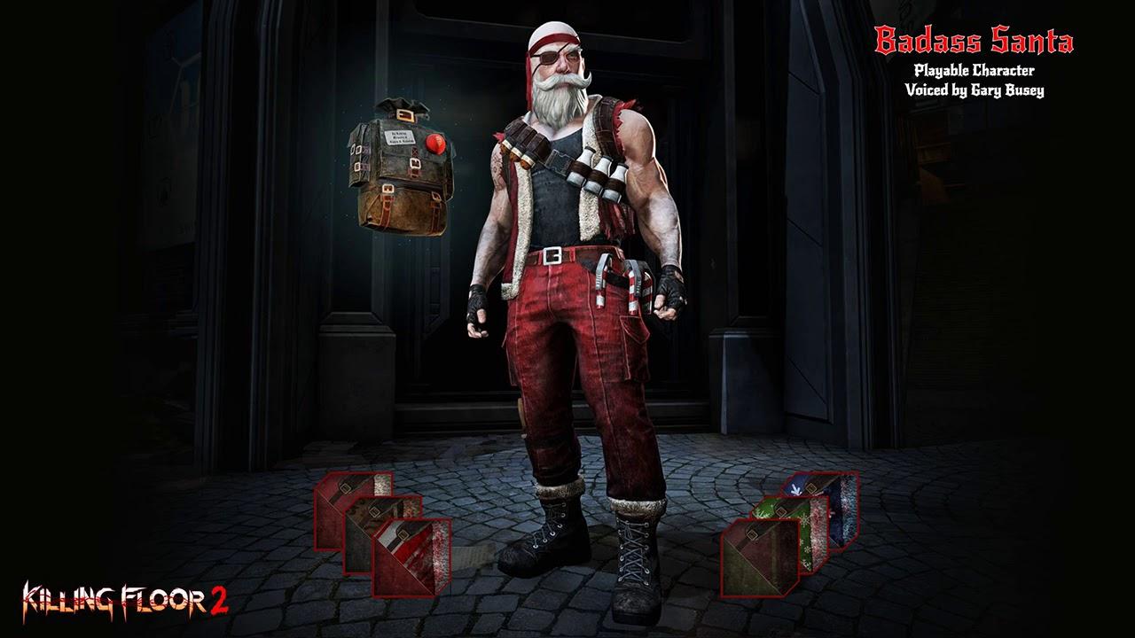 Killing Floor 2 Badass Santa Quotes Youtube