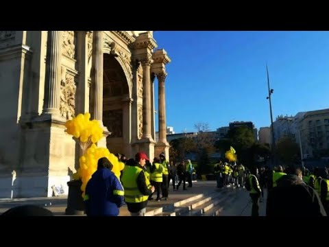 Acte sept des manifestations 'Gilets Jaunes' à Marseille