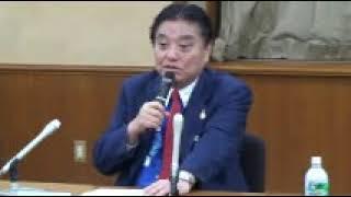 平成31(2019)年1月4日に行われた、名古屋市長河村たかしの年頭記者会...