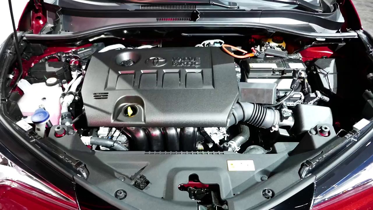 New 2018 Toyota C Hr Small Crossover Suv Engine Bay Tour 2 0l I4
