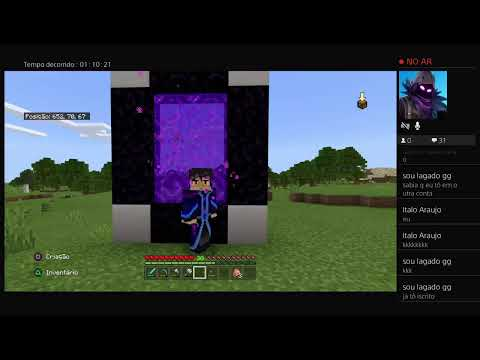 Super Live De Danilo Cs Games(minecraft)