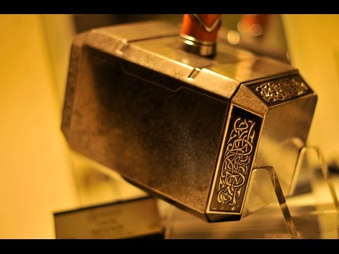 The Avengers Thor Mjolnir Hammer Official Replica From eFX UNBOXING