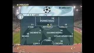 Lazio Rzym - Galatasaray Stambuł 1-0 (24.10.2001)