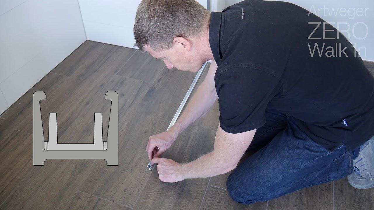 Artweger Deutschland montagevideo artweger zero walk in - youtube