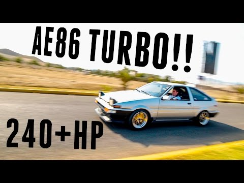 COPS CAUGHT US ON A TURBO AE86!