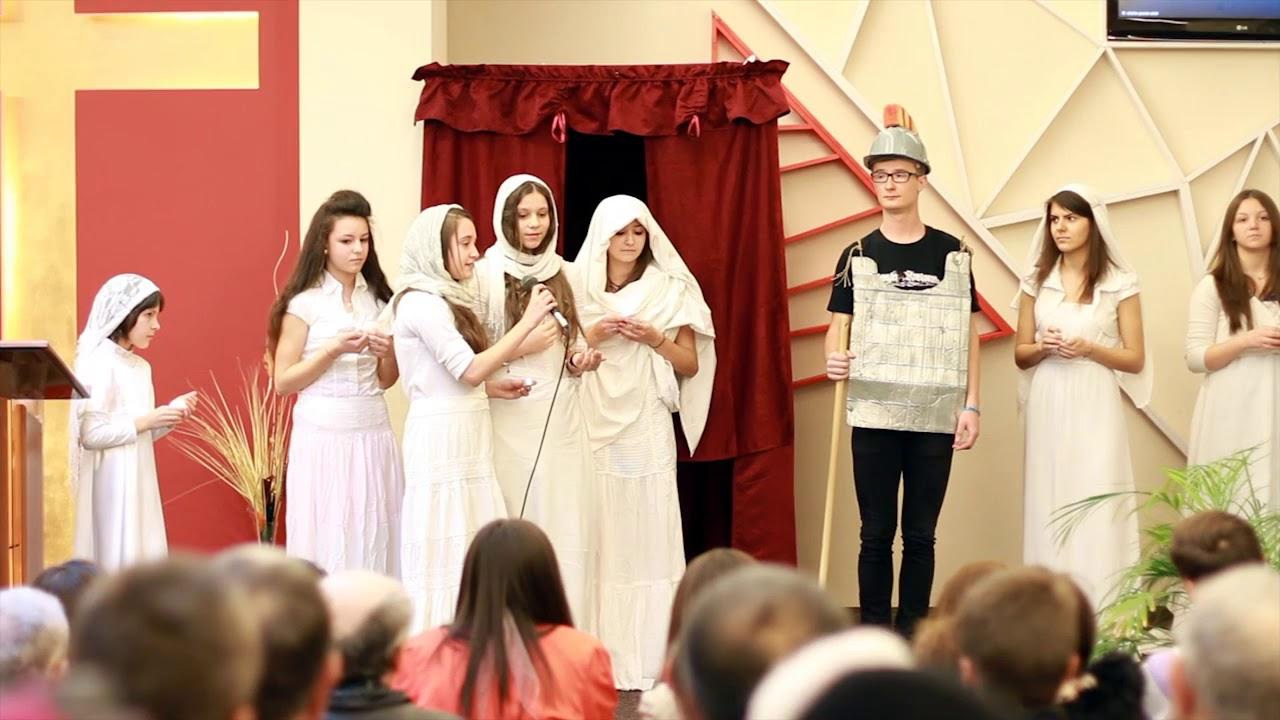 Sceneta copii - Adunarea anuala 2015