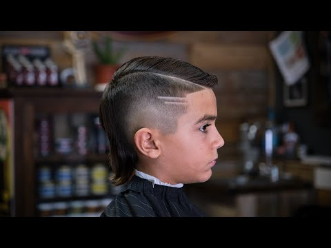 burst-fade-with-mullet-and-comb-over-hard-part-//-barber-tutorial