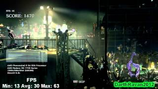 Resident Evil 6 - PC Benchmark on Sapphire Radeon HD 7750