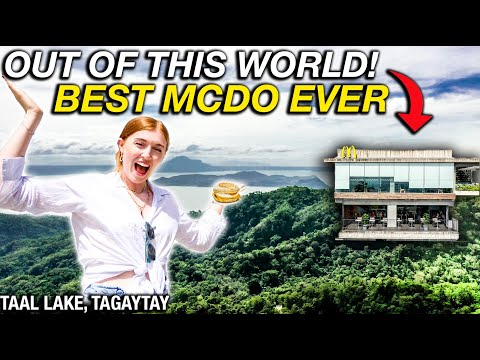 Philippines Has MOST INSANE MCDONALDS in the WORLD?! Tagaytay Keeps Getting Better