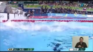 Final De 100m Pecho De Daniela Giménez En Río 2016