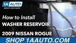 How to Replace Washer Fluid Bottle 07-13 Nissan Rogue