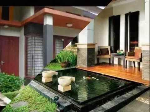 Desain Halaman Teras Rumah Minimalis Cantik Idaman 2014