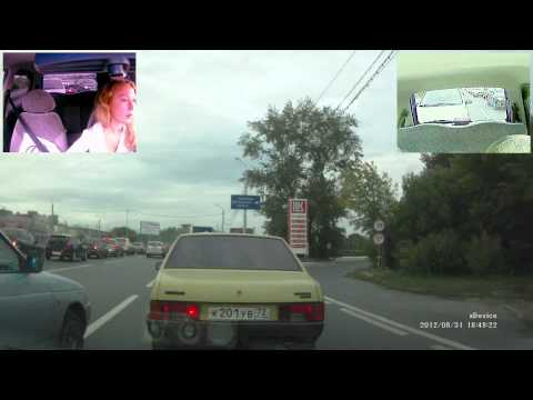 xDevice Black Box 34 3 камеры По пути Тюмень (тест видео)