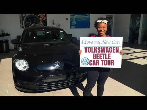 VOLKSWAGEN BEETLE CAR TOUR 2017 | MY NEW CAR TOUR!