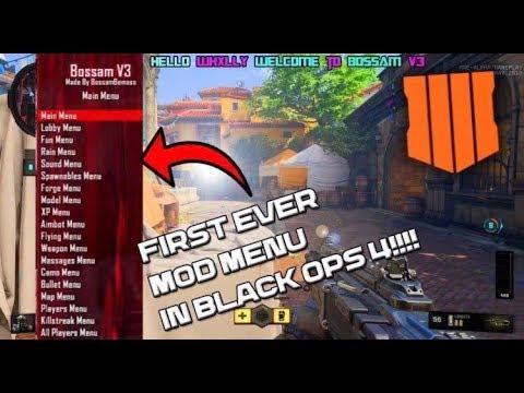 Black Ops 4 Mod Menu | BO4 Hack Aimbot Wallhack Download (PS4 XBOX ONE PC)