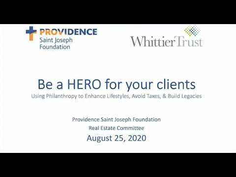 Providence Saint Joseph Real Estate Committee Presentation