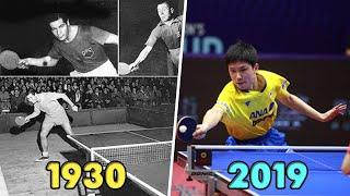 Table Tennis Evolution 1930-2019 [HD]