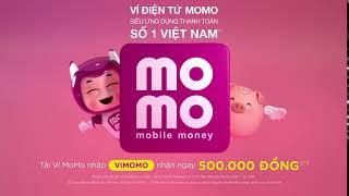 Tải Ví MoMo - Nhập mã