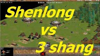 Shenlong 1 chấp 3 : Thần Long vs 3 đầu 6 tay 😂😀 Kèo siêu hay và siêu funny