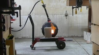 Make a propane forge & burner (without welding)
