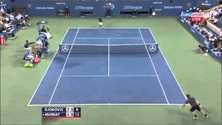 Andy Murray v Novak Djokovic 2014 US Open Quarter Finals Highlights High Definition HD