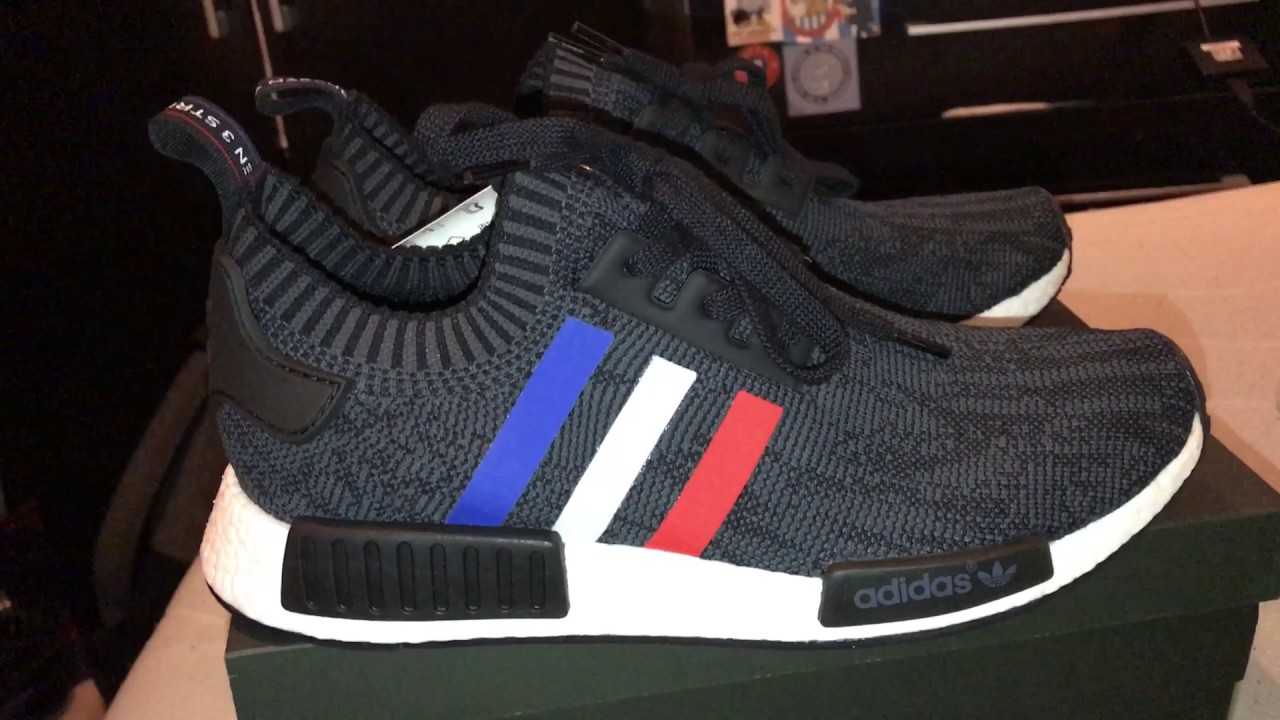 Adidas nmd r1 pk tri - colore / divagando su youtube