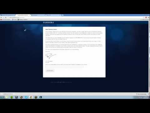 How to get Pandora Radio working
